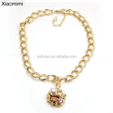 Butterfly Pearl Long Necklace Pendant Jewelry Pendant Korean female ornaments jewelry accessories