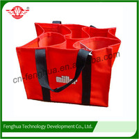High technology wholesale pattern for fabric wine bag