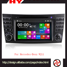 China Manufacture MP3 unlock car dvd for W211
