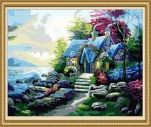 40*50cm home decor painting frame, canvas oil painting images