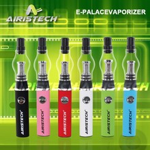 wax vapor pen glass dome atomizer with crystal glass globe Airistech E-Palace private logo vaporizer,double coil ceramic wick