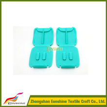 Durable Strong Plastic Squre Clip for Wristband Cloth