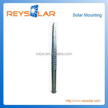 Solar Energy Photovoltaic Mounting System Fench Gate Ground Post/Galvanized Steel PV Racking piling Bolts