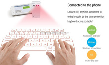 High quality Laser Projection Keyboard magic cube wireless Virtual Laser Keyboard for Pad PC and Phone