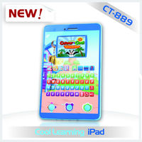 32 bit color screen kids alphabet learning pad that is ipad for kids to learning multi-language