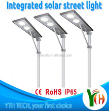 Meanwell integrated high quality 60w energy saving solar led street light all in one
