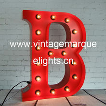 vintage marquee letters