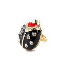 Lindo anillo de moda de la mariquita animales deportivo amistad Lovely Girls