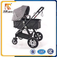 Aluminum alloy golf baby stroller 3-in-1 baby products for sale