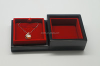 2015 Customized Luxury Wooden Necklace Jewelry Gift Box