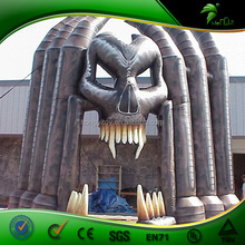OEM Factory Manufacturing Best Horrible Inflatable Halloween Black Entrance Decorations for Events