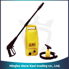 automatic high pressure car washer with 1600w power