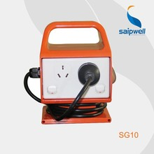 2015 China Factory Portable Battery Industrial Power Outlet Socket Outlet SG10