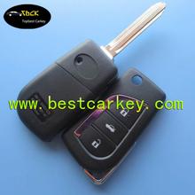 grande sconto 3 pulsanti chiave telecomando per auto toyota yaris chiave telecomando per la toyota yaris chiave