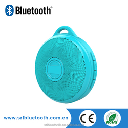 Mini stereo long working time sports with hook bluetooth v4.0 speaker