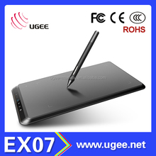 Hot selling UGEE EX07 8x5 inches high quality drawing tablet pc