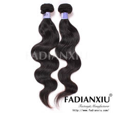 Fashionable charming brazilian hair natural color unprocessed premiun now hair