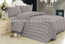 100% polyester bed cover set