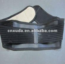 new products for 2012 magnetic back support belt back protection belt