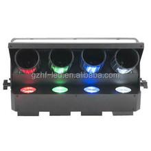 AMERICAN DJ Zipper 4-Head Quad RGBW Barrel Mirrored Roller Scanner Effect Light