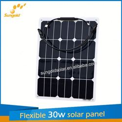 Sungold new design flexible 1kw solar panel