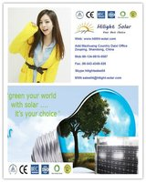Grad A latest factory direct price price per watt yingli solar panel for sale with TUV/CE/CEC/IEC/ISO