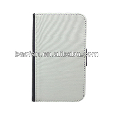 Blank sublimation leather phone case for samsung galaxy S3
