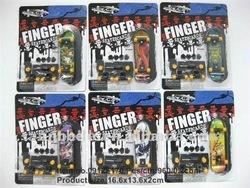Cool-Finger skateboarding/toy car model collection