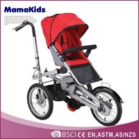 EN 1888 certificate 2014 luxury folding mother and baby bicycle