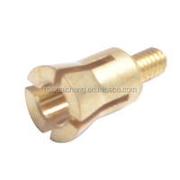 Custom Design Automatic Turning Precision Brass connection bolt for switch