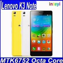 Original Lenovo K3 Note Lemon 4G FDD LTE Phone MTK6752 Octa Core Android 5.0 2G RAM 16G ROM 5.5' 1920*1080 Screen 13.0MP 3000mah