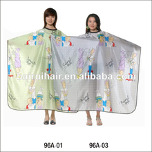 comfortable cute salon cape baber hair cutting cape hairdressing cape for children