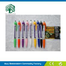 New Promotional Pen, Flag Banners Pen, Cheap Plastic Banner Ballpen