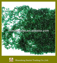 decorative colored glass pebbles beads for sale