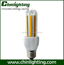 CFL 3U-like COB lamp e27 10w energy saving led light bulbs 9w e26 e27 led light bulb cold white