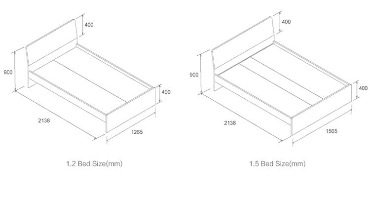 [10]A1.01.001.211 kids bedroom sets baby bed bedroom furniture set child furniturekid bed