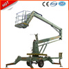 Articulated hydraulic aerial boom lift