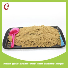 Funny diy purple soft beach sand castle molds toy