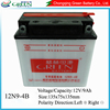 12v rechargeable storage battery/lead acid battery 12ah 9ah 10ah