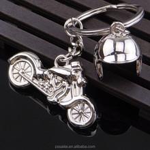 HOT high quality cheap custom metal made keychain/motorcycle helmet keychain