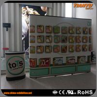 Advantage Price Strong OEM Exihibition Pop Up Shelf Display Wobbler For Advertising