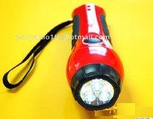 Emergency Dynamo LED Flashlight/Dynamo Torch Light/Dynamo Flashlight with Radio