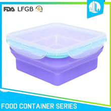 Wholesale high quality factory price silicone food container