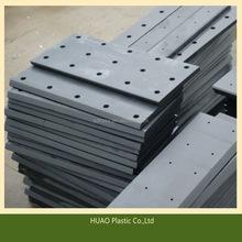 high quality black hard uhmw pe sheet,uhmwpe plastic sheet