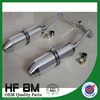 high performance 250cc, 400cc motorcycle exhaust muffler china, aluminium alloy muffler silencer, muffler for sale