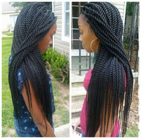 Fashion new design wholesale brazilian human hair wigs braide wigs for black women