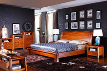 English Customizable Bed Frame Queen Equipped With Wardrobe Closet And Classic Bedrooms Sets