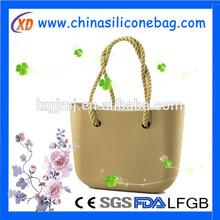 Mujer de silicona bolsa, bolso de hombro de silicona