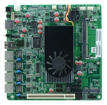 Dual Core D525 1.8Ghz,4 LAN PORTS+12V DC IN Networking Router Board Atom D525 Motherboard