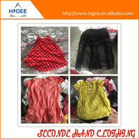 HIG wholesale second hand clothing in bales second hand and shoes used clothing brand name